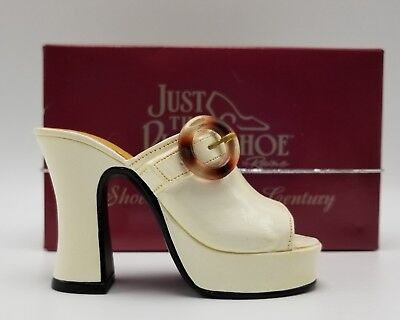 Just the Right Shoe STRUTTIN by Raine 25047 with Cert of Auth Box Miniature Shoe