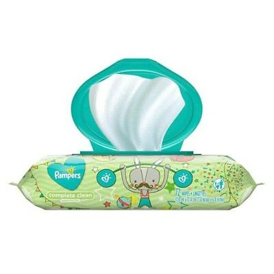 Pampers Baby Wipes Complete Clean Unscented Wipes 74ct