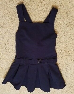 School Uniform Dress - Navy Blue by French Toast