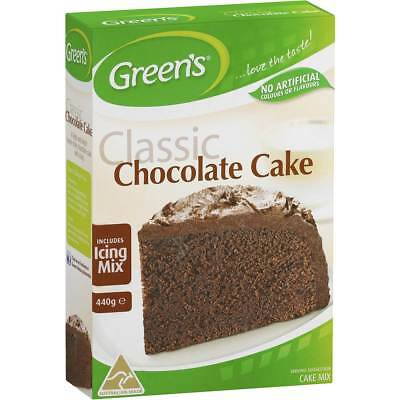 3x Greens Cake Mix Traditional Chocolate 440g