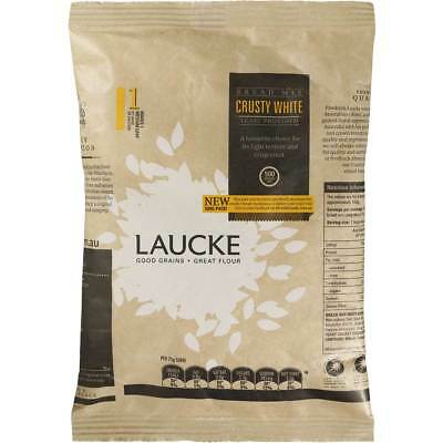 3x Laucke Crusty White Bread Mix 500g
