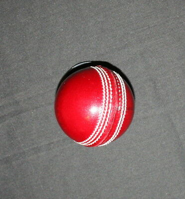 2 X Machine Stitched Cricket Balls - Top Grade Leather in 4 piece+ FREE SHIPPING