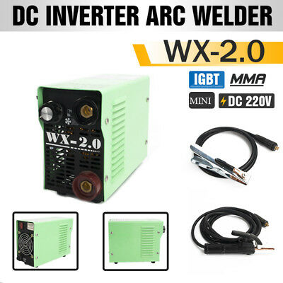 MMA Handheld Mini Electric Welder 220V 20-250A Inverter ARC Welding For 2.0 ROD