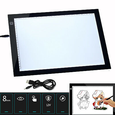 LED ARTE MANUALIDADES DIBUJO PANEL ILUMINADO Trazos Tatuaje Light Box Ultra Slim