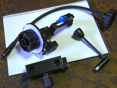 RedRock Micro Follow Focus with Gear Rings, Whip and Handle