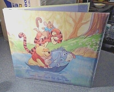 Winnie the Pooh PHOTO ALBUM Scrapbook Album