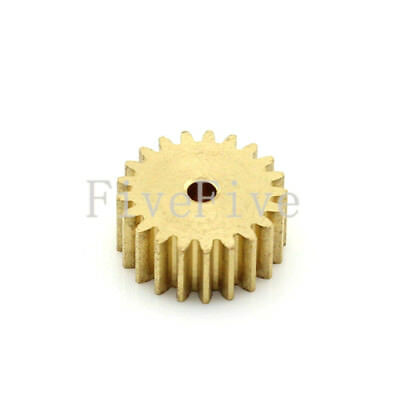 0.5M21T 2/3/4/5/6mm Bore Hole 21 Tooth Width 5 Module 0.5 Motor  Metal Spur Gear