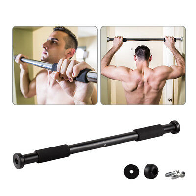 62-100cm Door Bar Chin Pull Push Ups Home Gym Fitness Strength Exercise Training