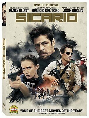 Sicario Digital O-ring [Emily Blunt] [Action & Adventure] [DVD] AOI