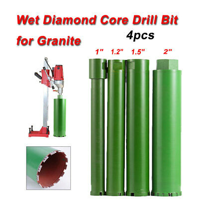 1'' 1.2'' 1.5'' 2'' Wet Diamond Core Drill Bit for Concrete-Premium Green Series