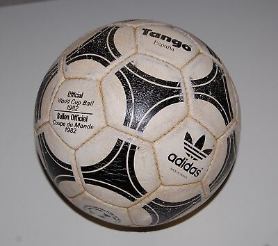 best cheap first look huge selection of ADIDAS TANGO ESPANA WORLD CUP 1982 OFFICIAL MATCH BALL MADE ...