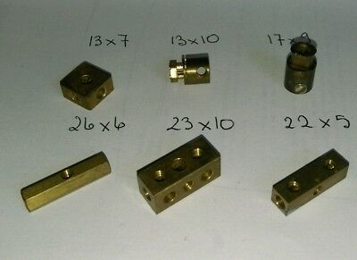 Joint Laiton Meccano Brass Coupling