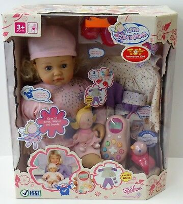 Zapf Creation Talking Little Sunshine - Baby Puppe Toy Innovation 2009 - NEU NEW