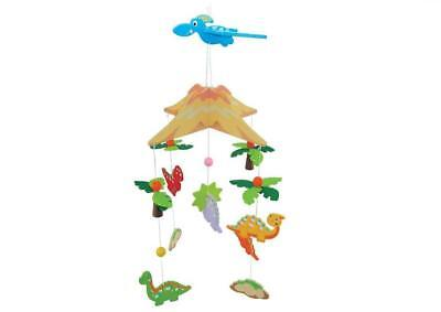 NEW Kaper Kidz Wooden Dinosaurs Hanging Nursery Baby Mobile - Room Decor