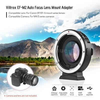 Viltrox EF-M2 AF Reducer Speed Booster Adapter For Canon EF Lens To M43 Cam A6P7