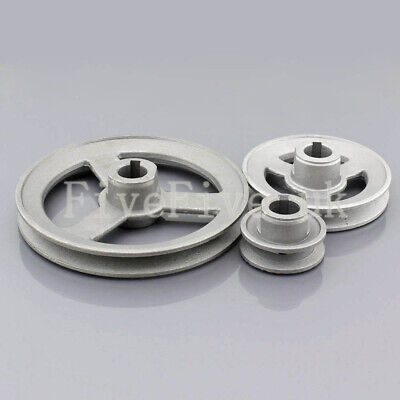 B Type Pulley Double V Groove Bore 19//22//24mm OD 60mm for B Belt Motor
