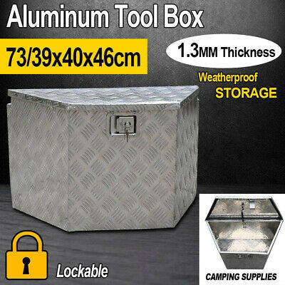 Aluminium UTE/Car/Truck Tool Box Trailer Underbody Storage Toolbox w Lock