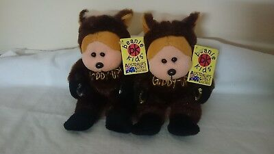 Beanie kids Giddy up the horse bear Mutation and common.