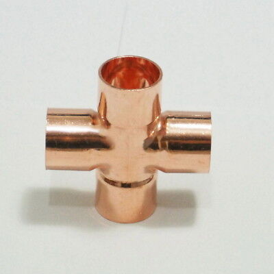 DIY Materials End Feed 15mm Part Street Pipe M & F Cross Over to Solder for Copper *MULTIBUY*