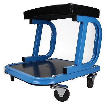 Mechanics Automotive Rolling Stool Chair Seat with Tool Storage Underneath
