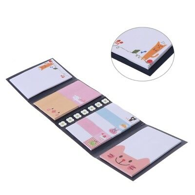 Cartoon Animal Sticky Note Memo Pad Notebook Label   Stationery Gift Hot