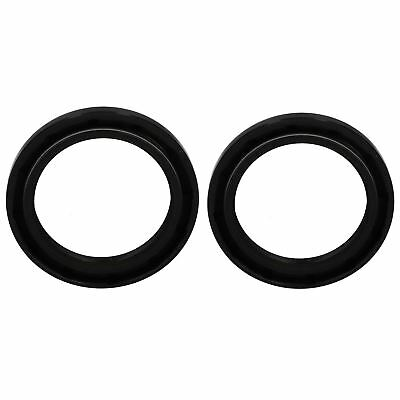 2 Trailer Bearing Hub Metric Oil Seal ID45mm x OD62mm x W7mm Rubber Sprung
