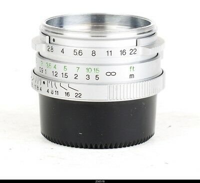 Germany Rollei HFT Sonnar 2.8/40mm for Leica  Screw Mount No9320277