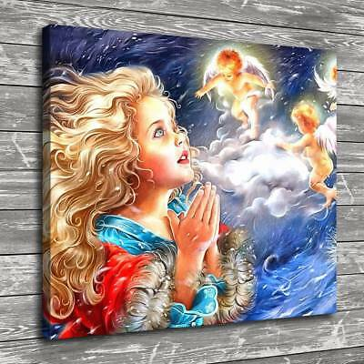 """12""""x14""""Fairy Tale Characters Home Decor Room HD Canvas Print Wall Art Painting"""