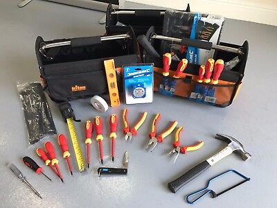 20pc Electrician Starter Tool Kit - Apprentice Electrical Tool Set