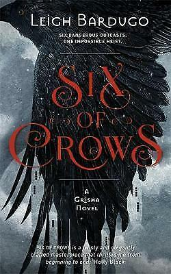 Six of Crows: Book 1 by Leigh Bardugo Paperback Book Free Shipping!