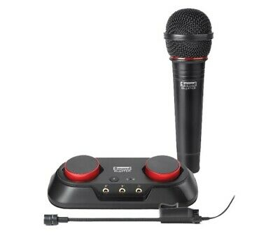 NEW CREATIVE SOUND BLASTER R3 AUDIO RECORDING STARTER KIT FOR YOUTUBE WITH T.f.