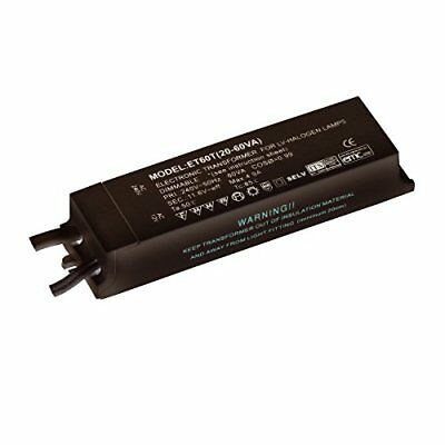 Black Finish 12V Low Voltage 20W - 60W Rated Electronic Dimmable ...