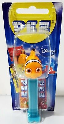 PEZ Candy Dispenser - DISNEY PIXAR Finding NEMO - 17g Candy BNIP