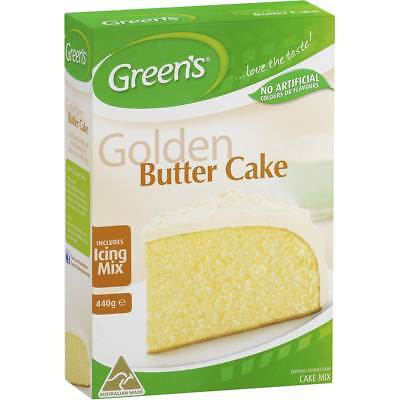 6x Greens Cake Mix Traditional Golden Butter 440g