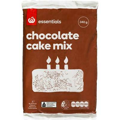 6x Essentials Cake Mix Chocolate 340g