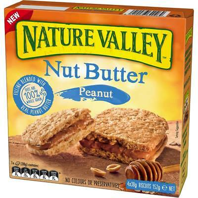 6x Nature Valley Nut Butter Peanut 152g