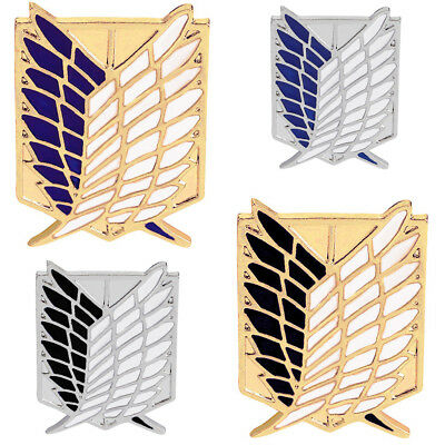 Chic Attack On Titan Badge Lapel Pin Brooch Wings Of Freedom Anime Pins Brooches