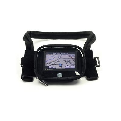 BikeTek Waterproof Motorcycle Motorbike Sat Nav GPS Holder Bag Mount Case Clear