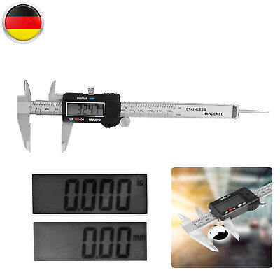 NEU~ Digitaler Schieblehre Digital LCD Messchieber Messschieber Caliper 0-150 mm