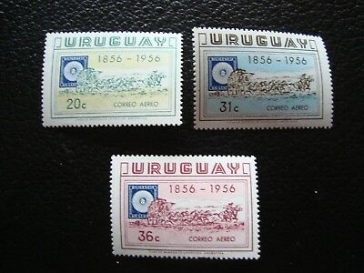 URUGUAY - yvert and tellier stamp air n° 150 a 152 n (A6) stamp