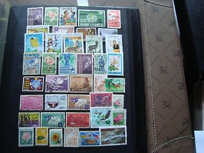 VIET NAM - 41 stamps canceled (all state) stamp
