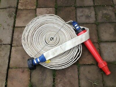 Fire Hose Lay Flat Not Been Used