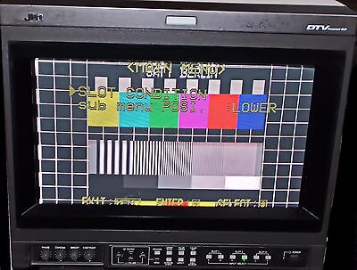 "JVC DT-V1710CG 17""  HD Studio Video Broadcast Class A Monitor  RGB      jh"