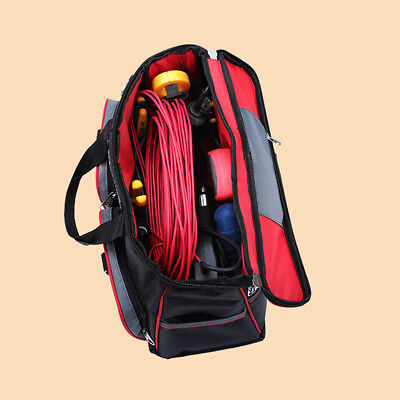 Multi-functional Electrician Tool Bag with Tool Box