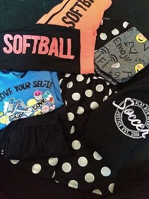 Size 12/14/16 Justice Girl Clothing - Lot of 7 items - Soccer/Softball - Dress