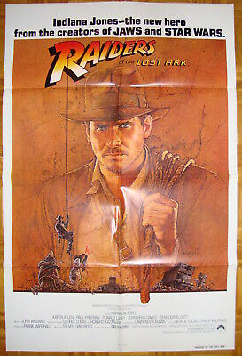 Raiders of the Lost Ark-H.Ford-K.Allen-Serial-Steven Spielberg-OS Int'l  (27x41)