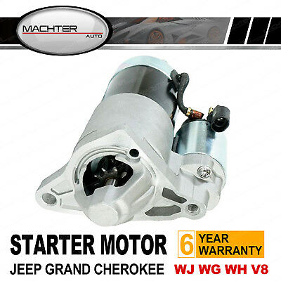 Starter Motor for Jeep Grand Cherokee WJ WG WH V8 4.7L Petrol 1999-2012 3Y5 XY