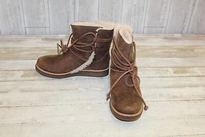 c289ab439a3 UGG LUISA BOOTS - Women's Size 5.5, Chocolate Brown