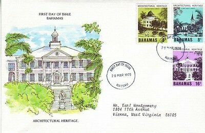 Bahamas - Special Events, Views, & Anniversaries (3no. FDC's) 1963-90