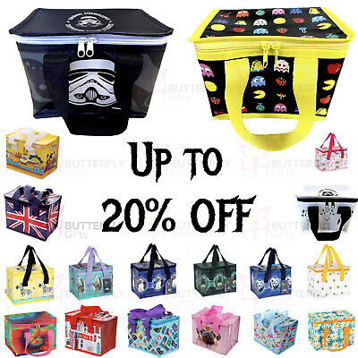 Children's Kids Lunch Bags Insulated Cool Bag Picnic Bags School Lunchbox Bag